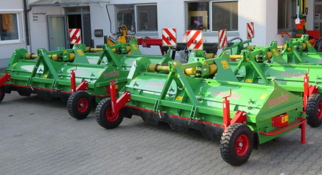 Krautschläger - 1. Maschinenlieferung eingetroffen
