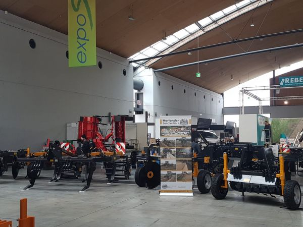 expoSE 2018 , Aufbau Messestand