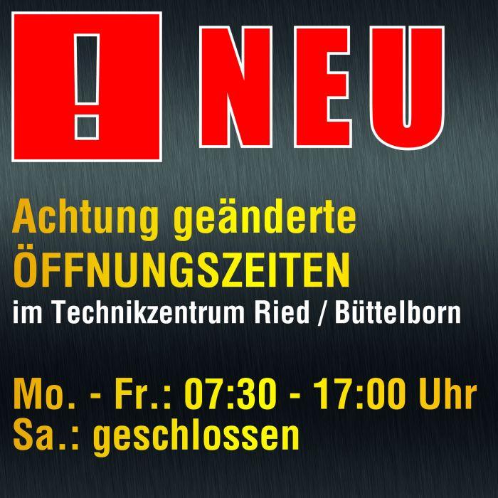 Neue Öffnungszeiten in Büttelborn