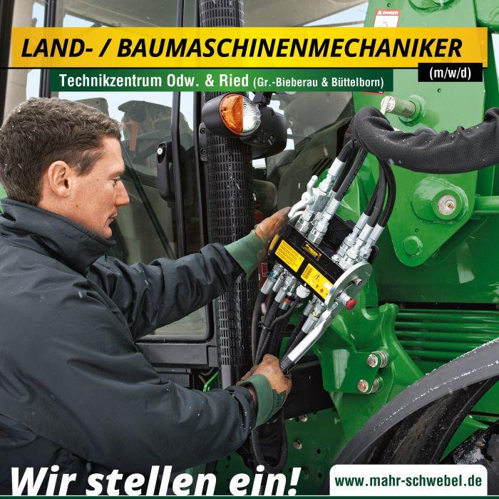 Land- o. Baumaschinenmechaniker (m/w/d) für Groß-Bieberau und Büttelborn