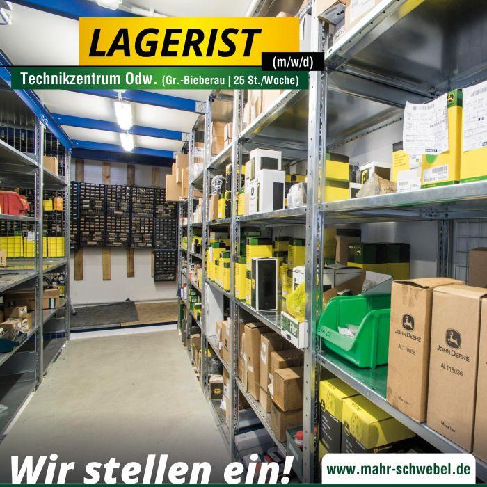 Lagerist (25 St./Woche · m/w/d) für den Standort Groß-Bieberau