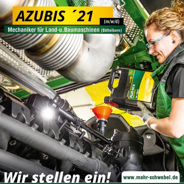 Auszubildender zum Mechaniker für Land-u.Baumaschinen 2021 in Bütteborn (M/W/D)
