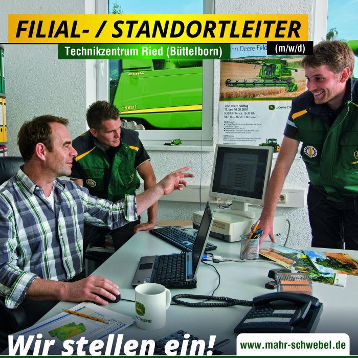 Filialleiter / Standortleiter (m/w/d) für den Standort Büttelborn