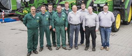 Auszubildender zum Mechaniker für Land- u. Baumaschinen 2020 in Bütteborn