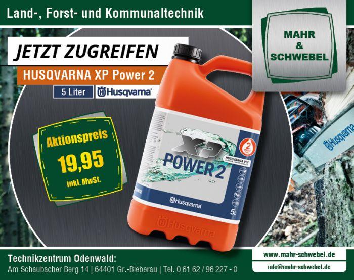 HUSQVARNA XP-POWER 2-Takt-Sonderkraftstoff zum Aktionspreis