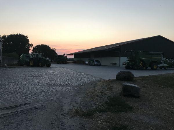 Am 06. Juli 2018 fand die John Deere Erntemaschinenvorstellung im Ried statt