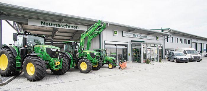 Vom Hufschmied zum  Partner für Land-, Forst-, Kommunal-, Garten- und Hoftechnik