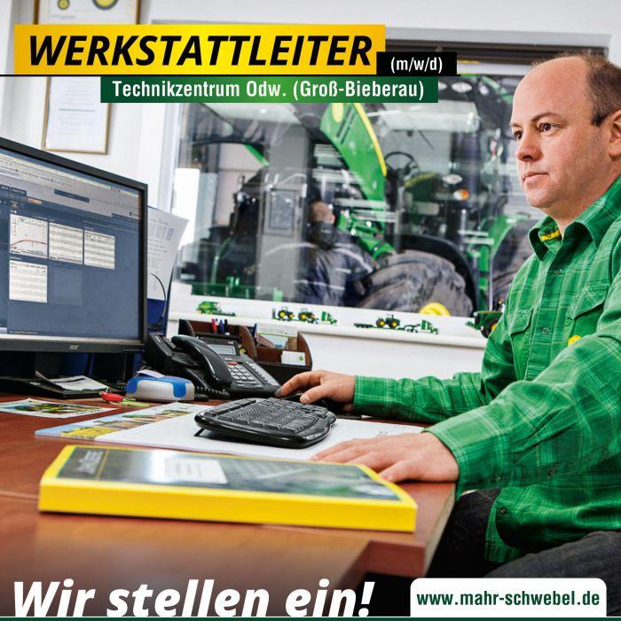 Werkstattleiter (m/w/d) für den Standort Groß-Bieberau