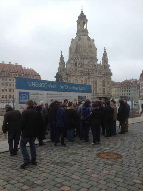 Studienfahrt mit Kunden nach Dresden mit Besichtigung zweier landw. Großbetriebe