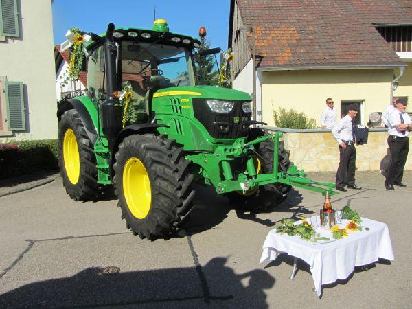Eine etwas andere Hochzeitskutsche für unseren Meister Dominik Hofmann !!!