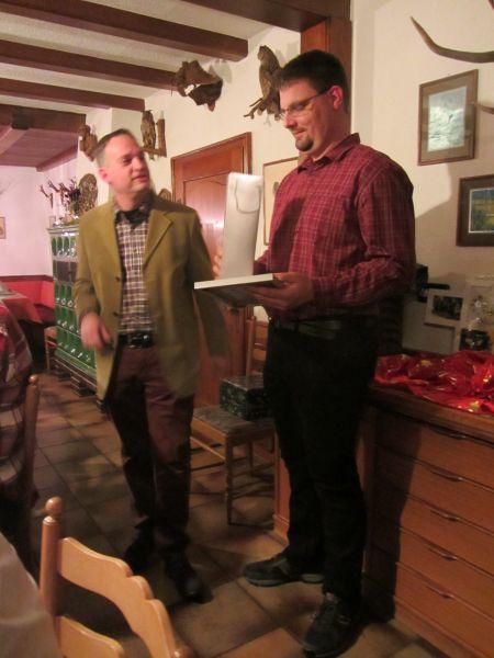 Ehrung verdienter Mitarbeiter an unserer Weihnachtsfeier !!!