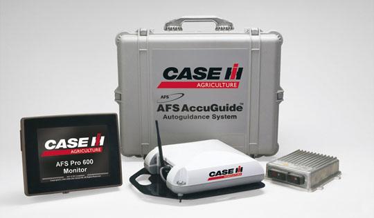 Präzisionsfarming von Case-IH