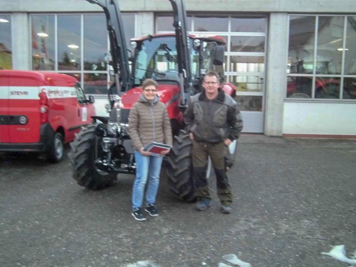 Jürgen Grieble und sein neuer Farmall 55C