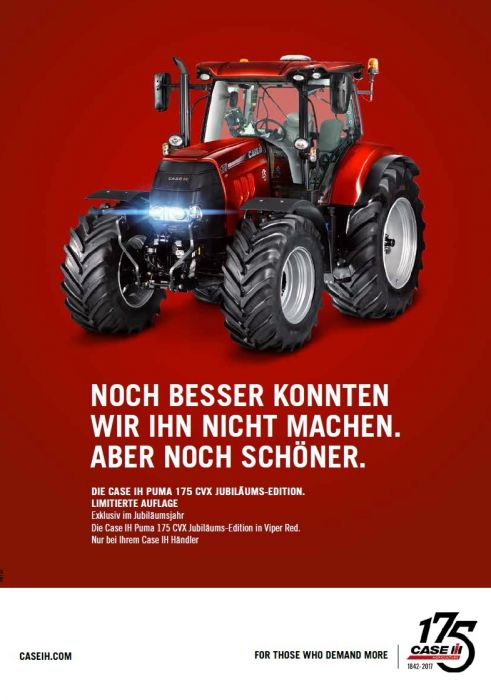 Die Case IH Puma 175 CVX Jubiläums-Edition