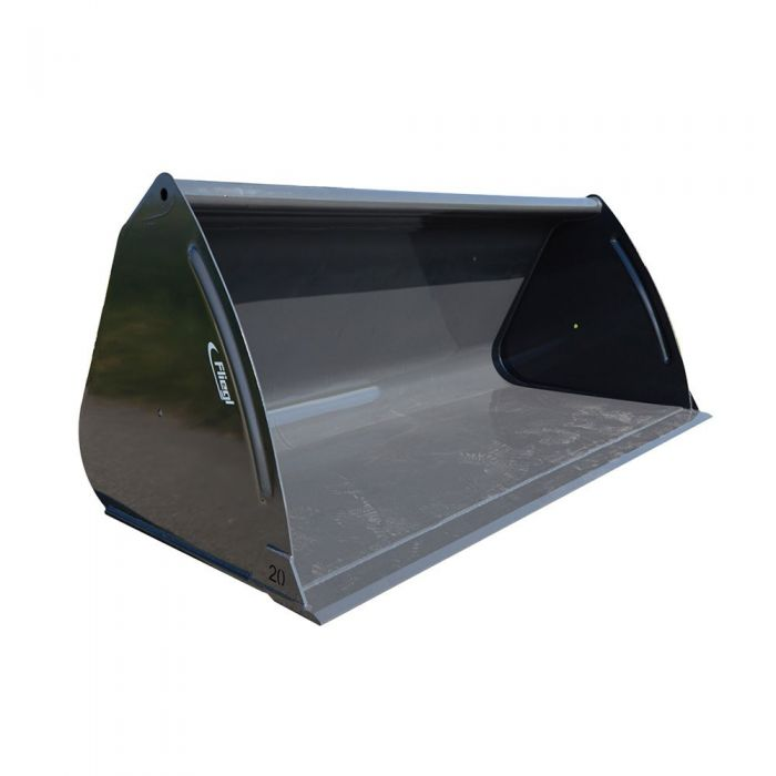 Fliegl Volumen-Schaufel lackiert 921mm tief, 859 mm hoch