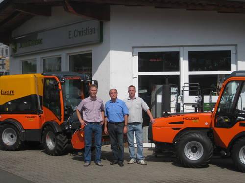Neuer Holder-Stützpunkthändler für die Nahe und Rheinhessen