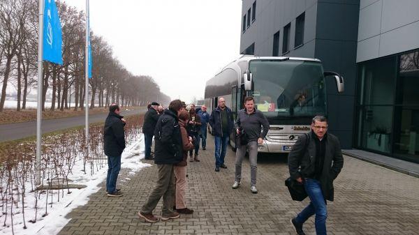 Kundenreise 2017 Lemken, Meyer-Werft und HAWE-Wester