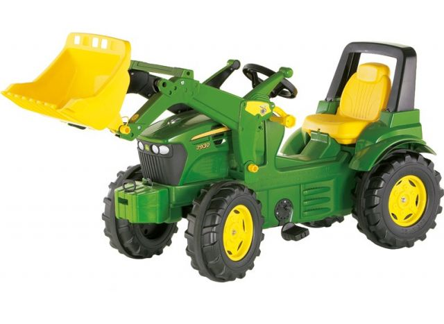 John Deere Tret Traktor 7930 mit Lader