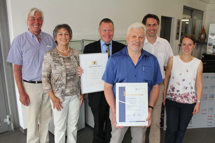 50-jähriges Jubiläum - Leo Gönner aus Immendingen