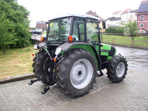 Deutz-Fahr Agrolux 310 an Herrn Trautner übergeben am 11.06.2013