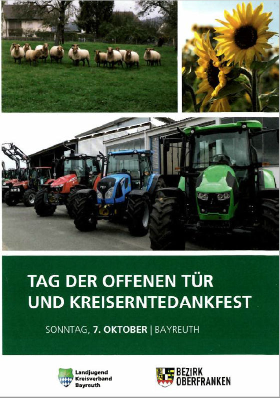 Stenglein GmbH stellt am Kreiserntedankfest in Bayreuth aus