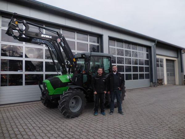 Deutz-Fahr 5070 D Ecoline an Herrn Knorr aus Eggolsheim übergeben