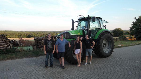 Agrotron 6190 TTV an die Familie Dormann in Hallerndorf ausgeliefert!