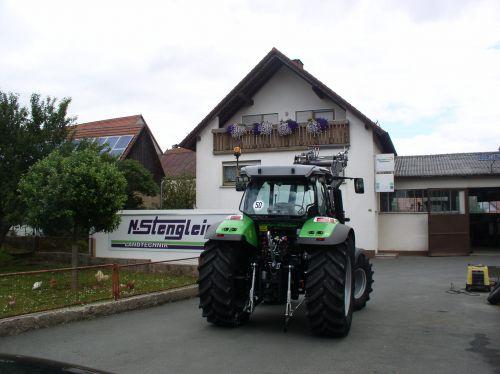 Deutz-Fahr Agrotorn K610Profiline an die Familie Failner Hohenmirsberg übergeben