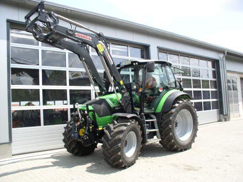 Deutz-Fahr Agrotron TTV430 für Herrn Hofmann aus Unterailsfeld