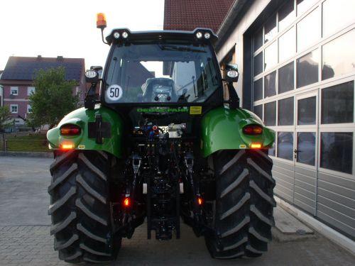 Deutz-Fahr Agrotron TTV 620 Sonderedition ausgeliefert an Teufel Kobelsberg