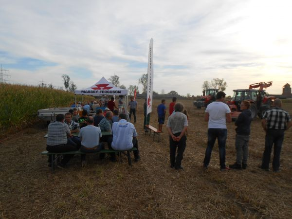Feldvorführung MF/Horsch/Tehnos Neuenburg 02.09.16