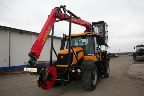 JCB 3200 - Forstaufbau