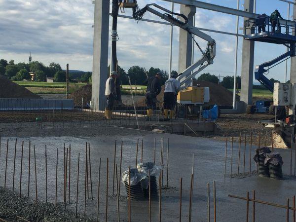 Bauprojekt Agrom Agrartechnik 2019