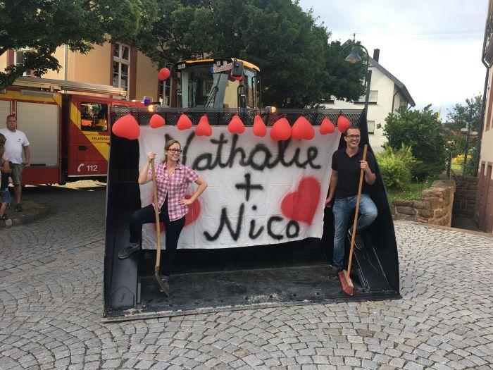 Polterabend Nathalie und Nico