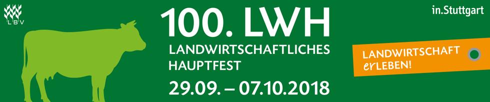 Einladung zum 100. LWH vom 29.09.2018 bis 07.10.2018