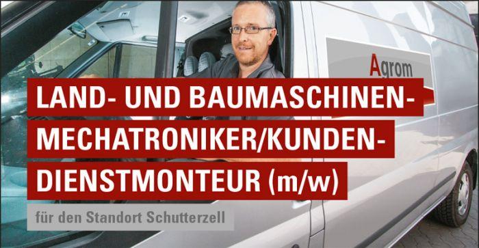 Land- und Baumaschinen-Mechatroniker/Kundendienstmonteur (m/w)
