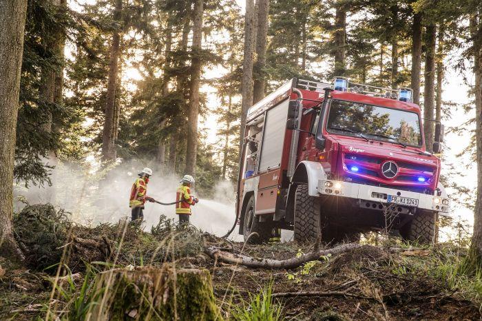 Extreme Waldbrandgefahr