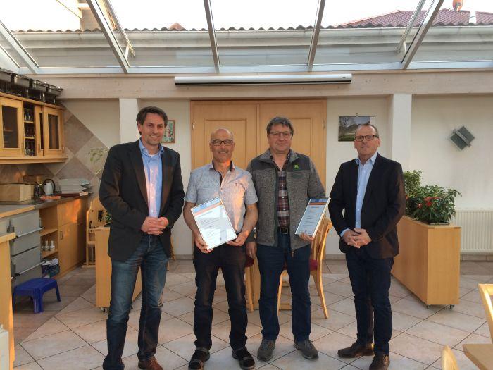 Fast 100 Jahre Treue zur Firma Wohlgschaft in Ravensburg
