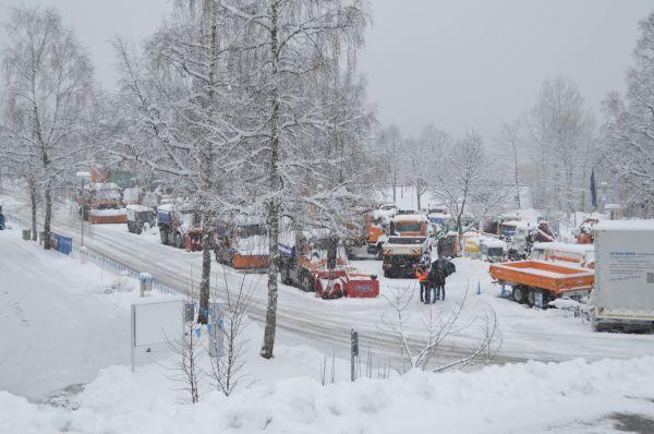UNIMOG Wintertour 2016