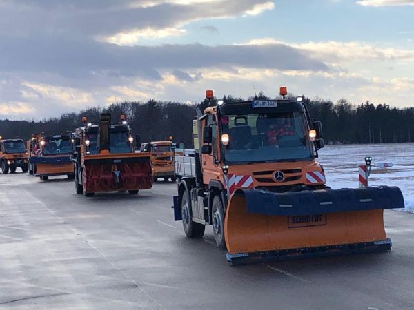 Unimog Winter Tour 2019