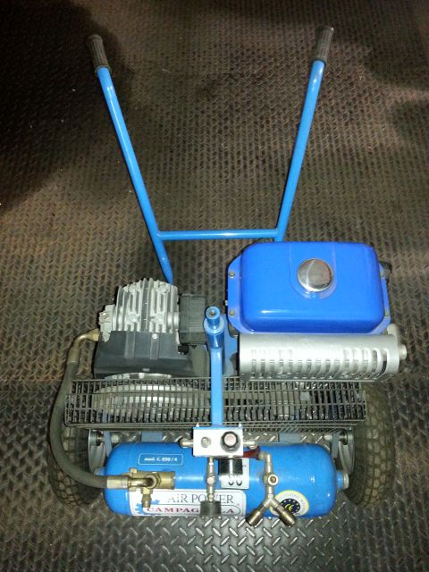 CAMPAGNOLA - Kompressor für Druckluftschneidanlage