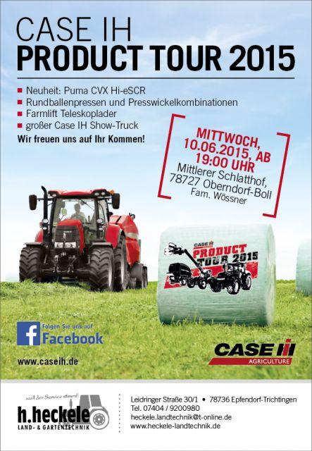 Case IH Neuheiten-Produkttuor 2015