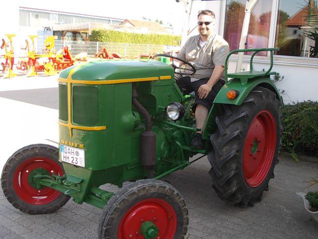 Oldtimer Schlepper Deutz D 15