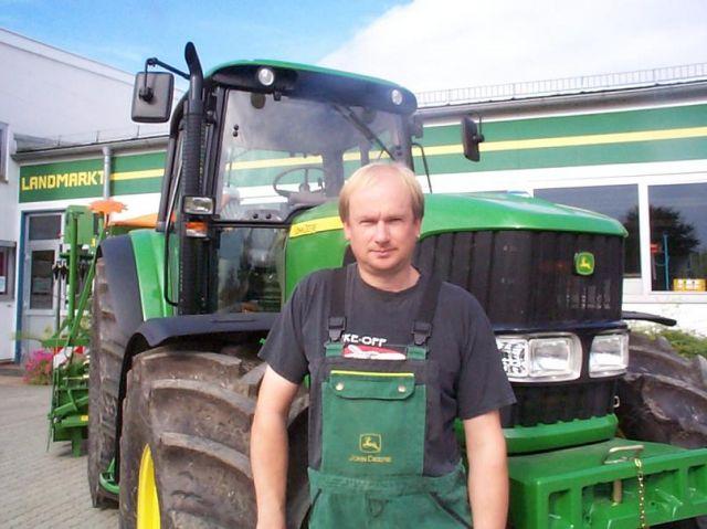 Gärtner Harald 29 Jahre bei uns