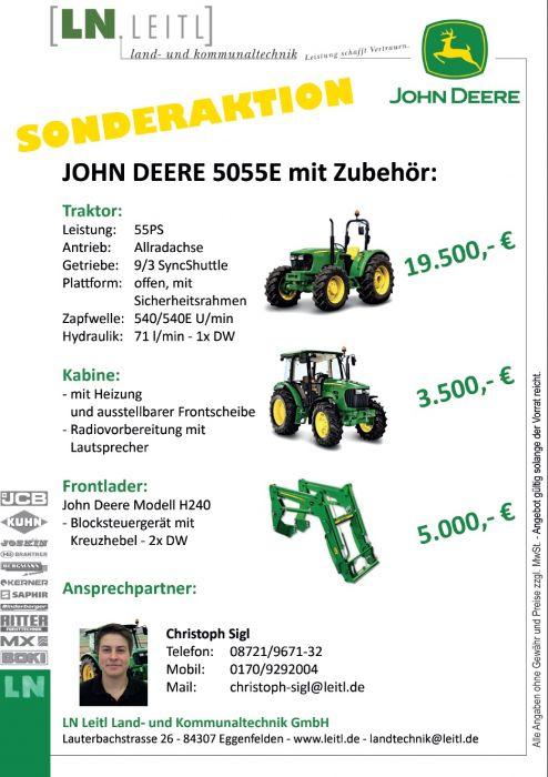 JOHN DEERE 5055E Sonderaktion