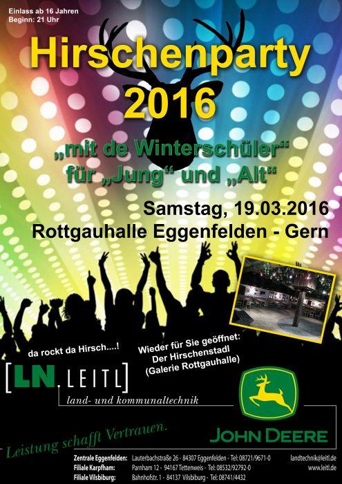 Hirschenparty 2016