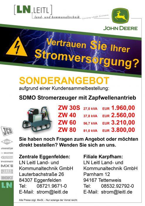 SDMO Sonderaktion