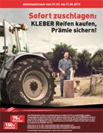 KLEBER Reifen: Jetzt Reifenprämie sichern!