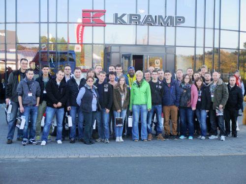Betriebsausflug zu Firma Kramp am 07.11.-08.11.2014