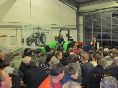 Bilder vom Deutz- Fahr/ Kverneland Infoabend am 04.11.2010